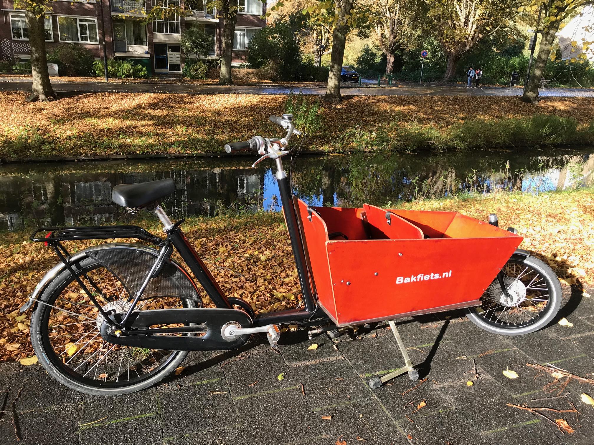 Tweedehands bakfiets kopen - Bella fiets